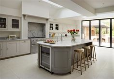 Carefully select the details in your kitchen - like paint colours%44 worktops and accessories