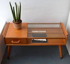 Furniture , Stylish Mid Century Coffee Table : Mid Century Coffee Table With Glass Top And Drawer