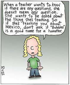 Just a little teacher humor...