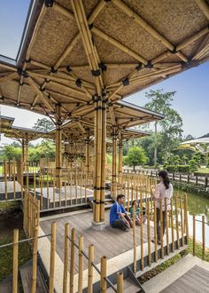 Image 5 of 15 from gallery of The Bamboo Playhouse / Eleena Jamil Architect. Photograph by Marc Tey Photography