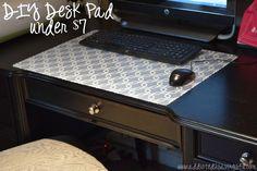 DIY Desk Pad Under $7