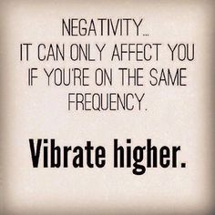 When you think chronic negative thoughts, your natural, high frequency is lowered.  The energy flowing through you is pinched off.  Your vibration and life force decreases.  And as a result, your health suffers, until you make a shift that will allow the energy to flow again. #raiseyourvibration #wellness #healing #vibes #LifeForceEnergyTheBody