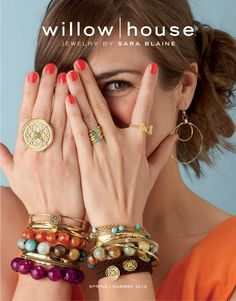 Here's Looking at You, Beautiful! Our Spring / Summer Jewelry Catalog Cover. Willow House, Catalog Cover, Summer Jewelry, Luxury Jewelry, Jewelry Design, Designer Jewelry, Jewelry Ads, Jewelry Trends, Style Me