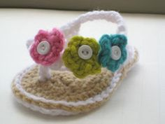 20 Awesome & Fabulous Collection of Crochet Slippers for Newborn Babies ...  └▶ └▶ http://www.pouted.com/?p=35916
