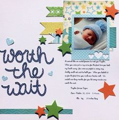 Worth the wait - first days pic. Ultrasound ⊱✿-✿⊰ Follow the Scrapbook Pages board & visit GrannyEnchanted.Com for thousands of digital scrapbook freebies. ⊱✿-✿⊰