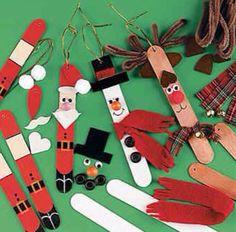 Icey pole Christmas characters :)
