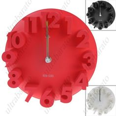 $24.29 - Quartz Wall Clock with Concave-convex Design for Children Kids Bedroom Home Decorator from UltraBarato Gadgets