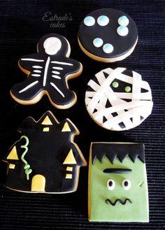 Estrade's cakes: galletas de Halloween con fondant
