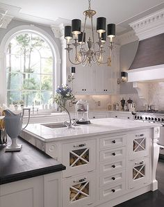 another white kitchen...