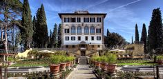 Il Salviatino gardens--the onetime home of Stanford students in Firenze