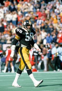 Jack Lambert, Pittsburgh Steelers, Black N Yellow, Champion, Football, Stock Photos, Board, Pictures, Nfl Football