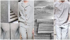 Faint Gray - With subtle tones of misty purple, faint grey is a key neutral for outerwear and tailoring next spring.