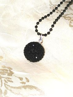 Witchy Necklace Hot Black Magic Dark Arts by NorthCoastCottage, $29.00