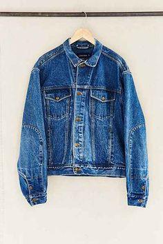 Vintage Calvin Klein Boxy Denim Jacket