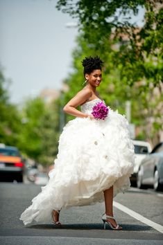 Natural hair #bridal #african #naturalhairstyle black brides #ebonyloveandmarriage #blacklove http://ebonylovenmarriage.com