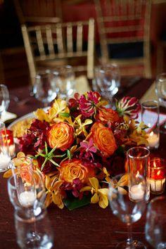 Indian Red and Gold Wedding -  Saloni Arneek