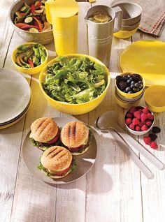 Vaisselle d'été en bioplastique - 100% biodégradable, elle va autant au micro-ondes qu'au lave-vaisselle.