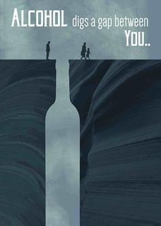 Anti-Alkoholismus-Poster auf – zhan ning – Willkommen bei Pin World Creative Poster Design, Ads Creative, Creative Posters, Creative Advertising, Graphic Design Posters, Advertising Design, Graphic Design Inspiration, Social Awareness Posters, Medical Posters