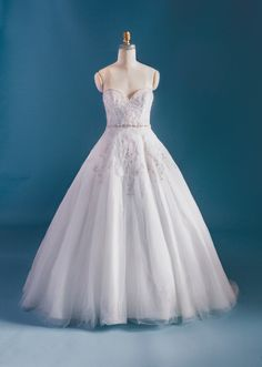 Tiana Inspired Wedding Dress From 2015 Disneys Fairy Tale Weddings By Alfred Angelo