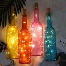 Lights & Lighting Led Lighting Reliable Creative Led Lamp Cork Rechargeable Bottle Stopper Wine Bottle Night Light Modern And Elegant In Fashion