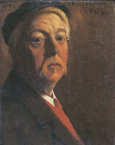 Self Portrait, 1911 by Jacobus Van Looy on Curiator, the world's biggest collaborative art collection. Art Photography Portrait, Portraits, Julia Margaret Cameron, Johannes Vermeer, Digital Museum, Dutch Painters, Collaborative Art, People Art, Rembrandt