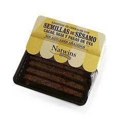 Natwins Barritas Semillas Sesamo Cacao Soja y Pasas 80g