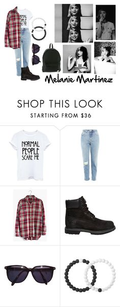 """""""Normal People scare me."""" by abbygurl9090 on Polyvore featuring Topshop, Madewell, Timberland, Sonia Rykiel, Lokai, Roxy, melaniemartinez and Crybaby"""