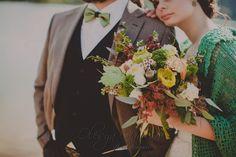 Олеся Гавриш - свадебная флористика и декор - Лесная свадьба Ксюши и Димы с элементами бохо