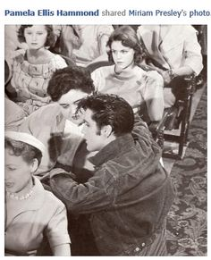 elvis presley AND HIS MOTHER | want to share a very special and rare photo of Elvis which was ...