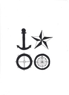 Original Nautical Illustration, by tangled ribbons on Folksy