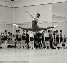 """Marianela Nunez - Notice all the ballerinas in the back like """"what"""""""