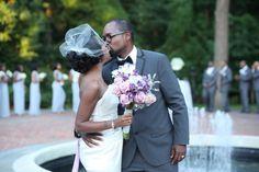 Maryland Wedding Coordinator | Simply Breathe Events | Brittney + Thomas' wedding at Newton White Mansion in Mitchellville, Maryland #mdweddingplanner Photo cred: Natarsha Wright Photography
