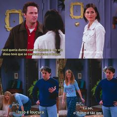 Friends Tv Show, Friends In Love, Phoebe Buffay, Chandler Bing, Series Movies, Movies And Tv Shows, Friend Memes, New York, Funny Memes