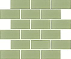 Cover a dingy brick fireplace surround with glass tile in a soft green, a cheery color that goes with everything. Mint Green Subway Glass tile, about $9.97 per square foot; homedepot.com