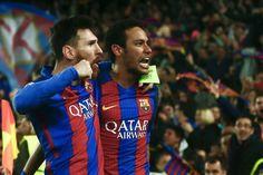 Messi, Neymar y una emotiva despedida