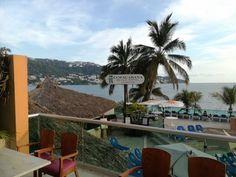 Vista desde la terraza del Restaurante Acuario