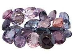 Parcel Of Burma Spinel 10.00ctw Mixed Shape And Size