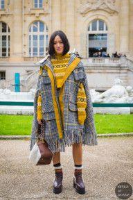 STYLE DU MONDE / Paris SS 2018 Street Style: Tiffany Hsu  #Fashion, #FashionBlog, #FashionBlogger, #Ootd, #OutfitOfTheDay, #StreetStyle, #Style