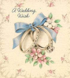rings & blue ribbon by in pastel, via Flickr