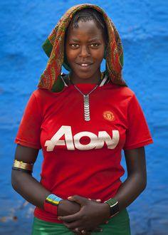 Tribe fashion, Omo Valley, Ethiopia - 2013 by Eric Lafforgue