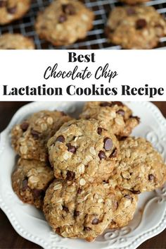 The Best Chocolate Chip Lactation Cookie Recipe To Make Toda.- The Best Chocolate Chip Lactation Cookie Recipe To Make Today If you are looking for a yummy chocolate chip lactation cookie recipe, here& a yummy one to try. Chocolate Chip Oatmeal, Best Chocolate, Chocolate Chip Cookies, Chocolate Chips, Healthy Lactation Cookies, Lactation Recipes, Lactation Foods, Lactation Smoothie, Baby Food Recipes