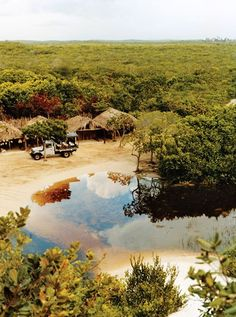 Leave your car and stock up on refreshment at this entrance to Lençóis Maranhenses National Park; all touring is on foot. São Luís is nine hours from here, along a road with few travelers.
