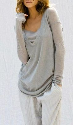 slighty oversized lounge outfit