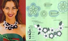 I found some niceaccessorypatterns posted here. There are all sorts of things posted from necklaces and bracelets, to arm warmers... sole...