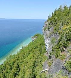 Lions Head Lookout, Bruce Peninsula, Ontario, Canada