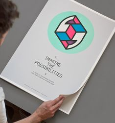 "Project: Imagine the Possibilities  Share49  Recently Magpie Studio released a new project called Imagine the Possibilities which they describe as ""a series of illuminating thoughts from Robert Horne on Imagine paper"". The project consists of eight beautiful posters with different think worthy quotes and matching illustrations."