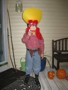 Yosemite Sam Halloween Costume-I don't know why she wants to be this but she does.