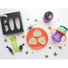 Spooky Toddler Food
