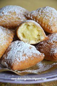 DOLCISOGNARE : Tortelli dolci fritti