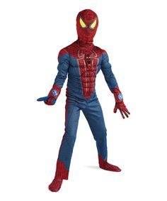 Look at this Light-Up Muscle Spider-Man Dress-Up Outfit - Kids on #zulily today!